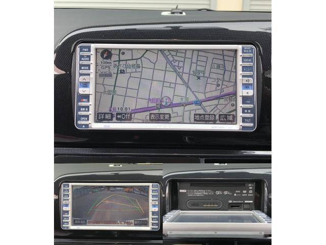トヨタ ウィッシュ X エアロスポーツパッケージ HDD バックカメラ ETC