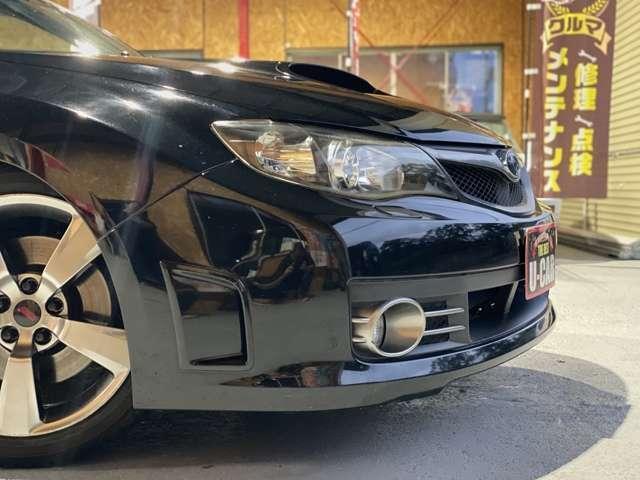 WRX STI Aライン タイプS HKS製車高調/黒ハーフレザーシート/HDDナビ/フルセグTV/BT対応/ETC/パドルシフト/Siドライブ/4WD/スマートキー/プッシュスタート/純正18インチAW/新品サマータイヤ/車検整備付き(12枚目)