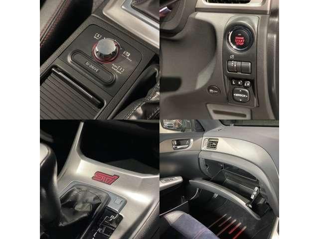 WRX STI Aライン タイプS HKS製車高調/黒ハーフレザーシート/HDDナビ/フルセグTV/BT対応/ETC/パドルシフト/Siドライブ/4WD/スマートキー/プッシュスタート/純正18インチAW/新品サマータイヤ/車検整備付き(16枚目)
