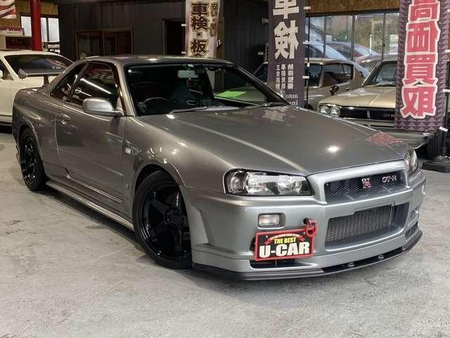 ☆スカイライン R34 GT-R☆稀少な1台が入荷致しました!!ユーザー買取車です!!