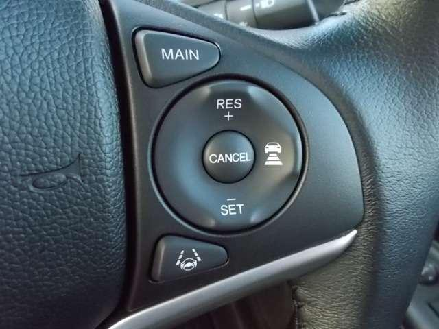 L ホンダセンシング 2年保証付 デモカー 衝突被害軽減ブレーキ アダプティブクルーズコントロール サイド&カーテンエアバッグ メモリーナビ Bカメラ フルセグTV ETC スマートキー ワンオーナー車(11枚目)