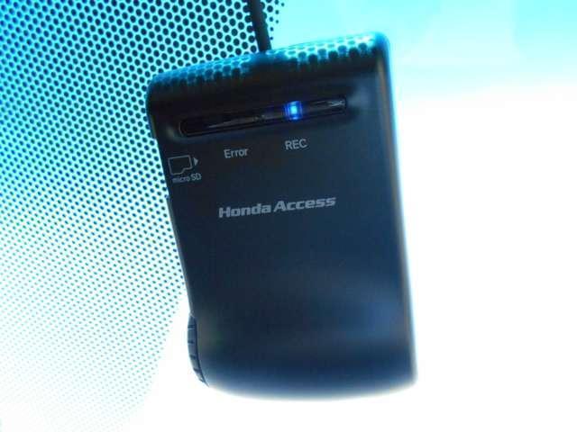 万が一の時あると心強いドライブレコーダー!急ブレーキ・急ハンドルが起こった際、記録が上書きされずに保存されます。