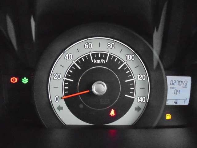 メーターも見易いレイアウトで、安心ドライブをサポートします♪