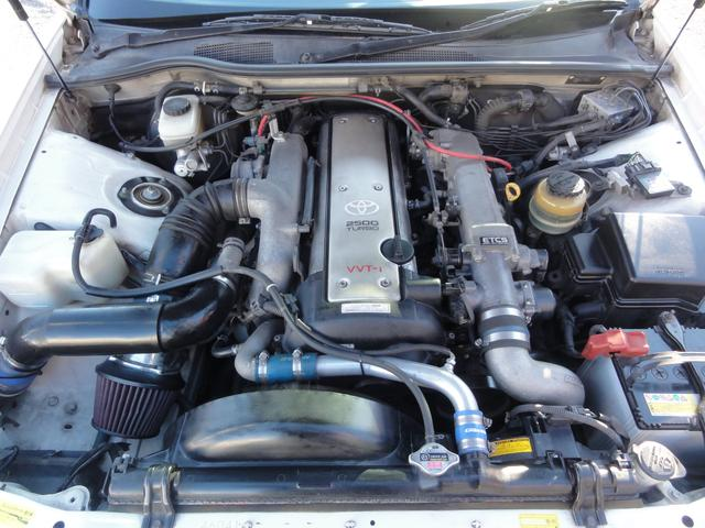 トヨタ クレスタ ルラーンG 5速公認 後期仕様 車高調 LSD フルエアロ