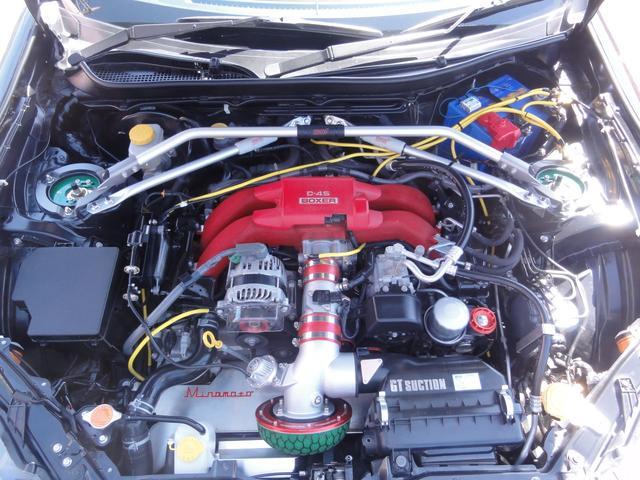 スバル BRZ tS GT-pkg 車高調 ウイング レカロ アドバンAW