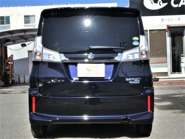 ハイブリッドMV 1オーナー ユーザー買取車 ストラーダフルセグSDナビ 左側パワースライドドア スマートキー BLITZスロコン LEDヘッドランプ(4枚目)