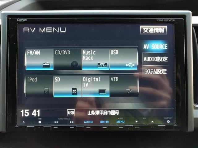 スパーダ パワーエディション 4WD社外HDDナビ  ETC(7枚目)