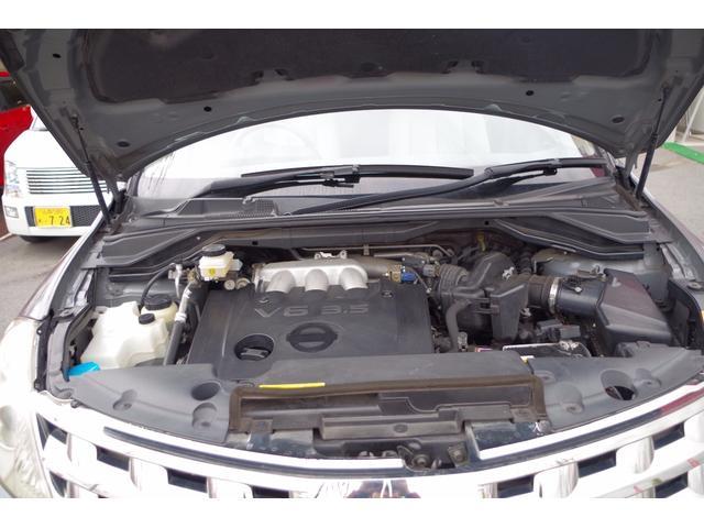 日産 ムラーノ 350XV スタイリッシュシルバーレザー
