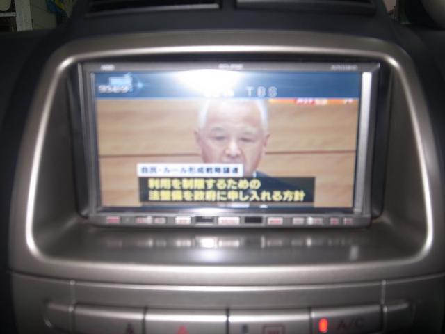 ナビ・TV付きで快適なドライブを楽しめます。