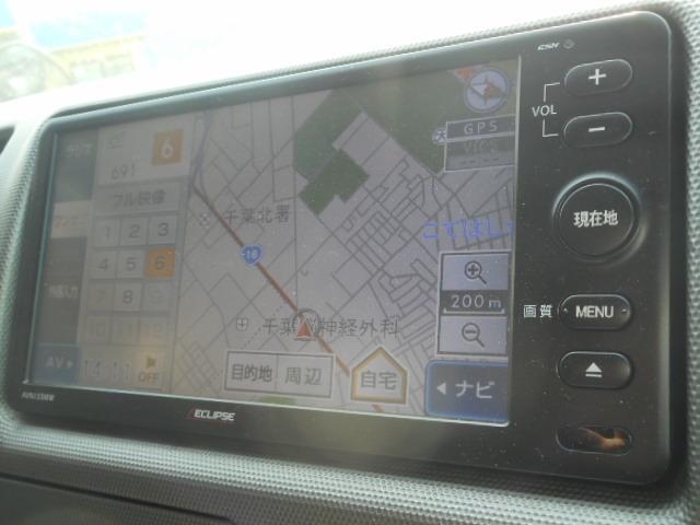 トヨタ ハイエースバン ロングスーパーGL 外ナビ ワンセグTV ETC