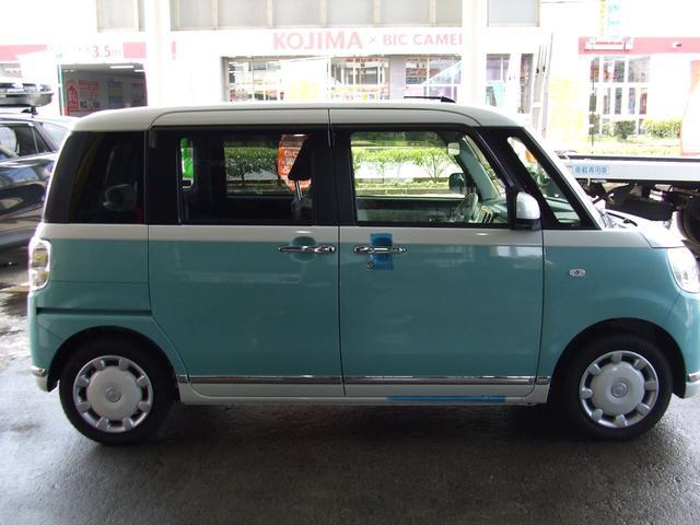 「ダイハツ」「ムーヴキャンバス」「コンパクトカー」「福島県」の中古車4
