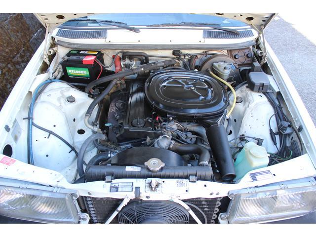 メルセデス・ベンツ M・ベンツ 230E W123 最終型 AC PS PW 集中ドアロック