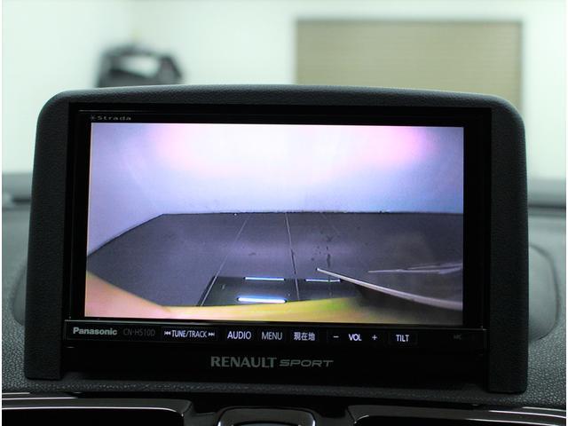 ルノー スポール トロフィー 限定車 2DINナビ Bカメラ(5枚目)
