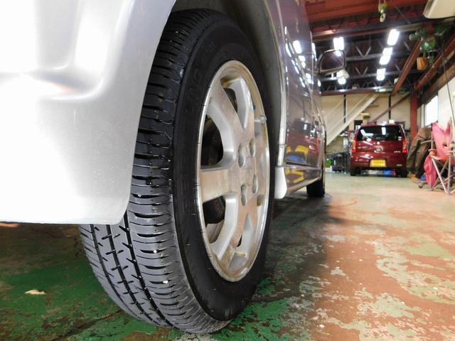 カスタム R ターボ 純正アルミホイール 電格ミラー オートエアコン パワーウィンドウ パワステ ベンチシート フルフラットシート 衝撃安全ボディー Wエアバック ABS(66枚目)
