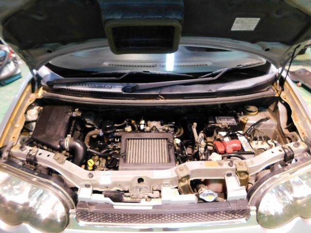 カスタム R ターボ 純正アルミホイール 電格ミラー オートエアコン パワーウィンドウ パワステ ベンチシート フルフラットシート 衝撃安全ボディー Wエアバック ABS(71枚目)