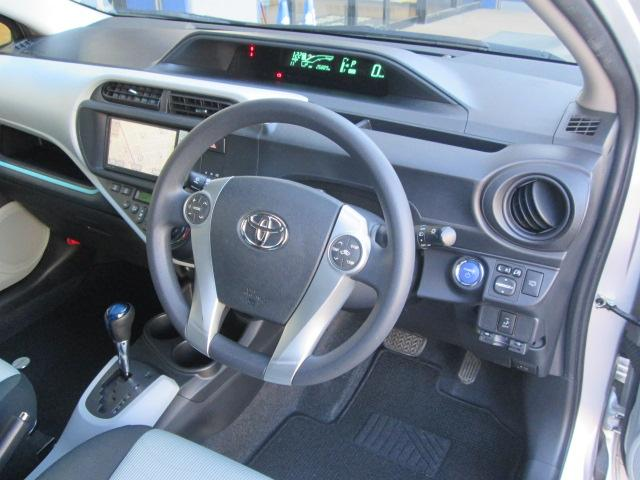 トヨタ アクア S LEDヘッドライト フルエアロ 純正フルセグHDDナビ