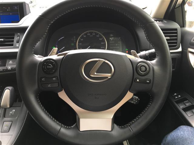 レクサス CT 200h バージョンL 本革 社外AW 冬タイヤ付き