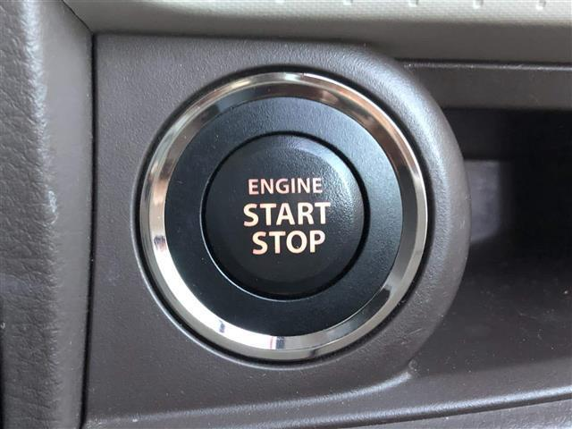 ◆プッシュスタート◆ボタンでエンジン始動!キーを取り出す必要なし♪