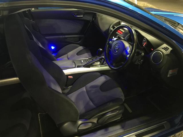 マツダ RX-8 ベースモデル 車高調 純正ナビ 社外マフラー