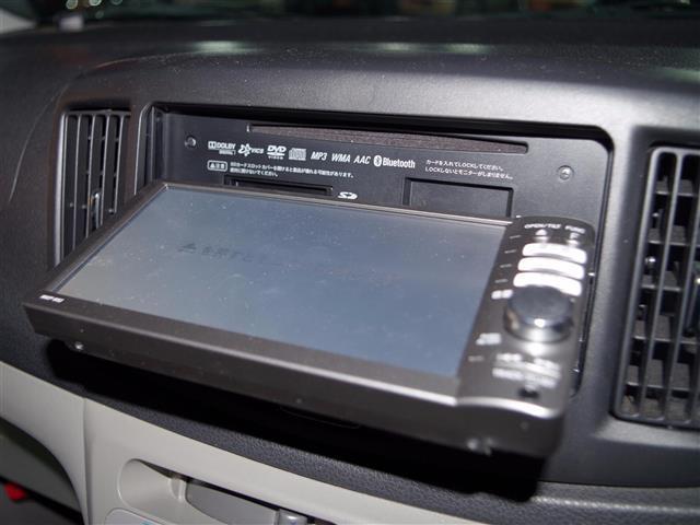 ダイハツ ミライース X メモリーナビ DVD再生 キーレス CD