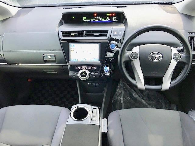 トヨタ プリウスアルファ S ツーリングセレクション 純正HDDナビ ETC