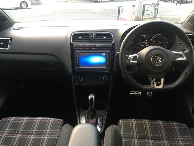 フォルクスワーゲン VW ポロ GTI ワンオーナー 純正ナビ フルセグTV ETC HID
