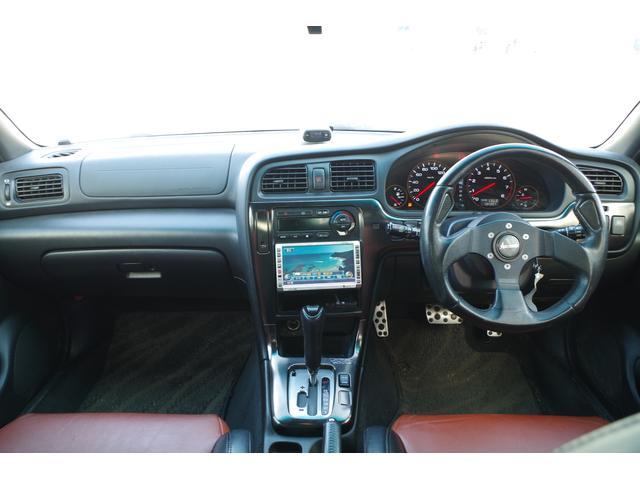 スバル レガシィB4 BLITZEN  HDDナビ 本革シートETCシートヒーター