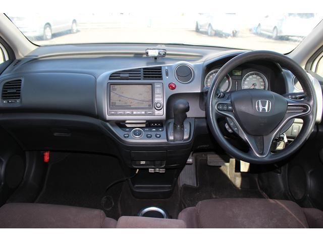 ホンダ ストリーム X HDDナビ ETC バックカメラ ワンオーナー キーレス