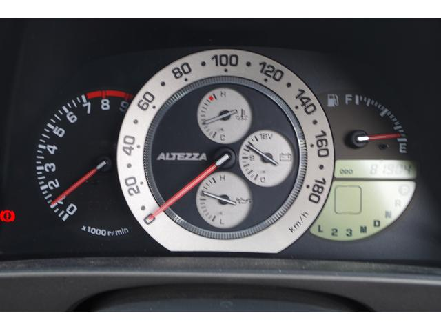 トヨタ アルテッツァ RS200 Zエディション 純正ナビ ETC ワンオーナー