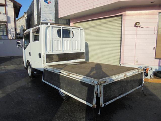 日産 アトラストラック WキャブスーパーローDX拡声器マイク付