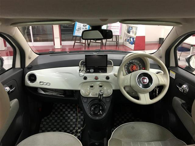 「フィアット」「フィアット 500」「コンパクトカー」「静岡県」の中古車3