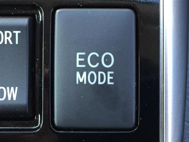 【ECOモード】省燃費運転が可能になります!