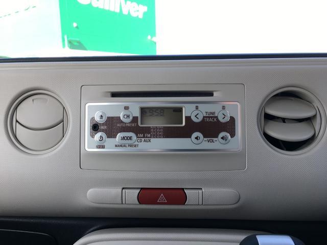 ダイハツ ミラココア X アイドリングストップ スマートキー 純正CDデッキ