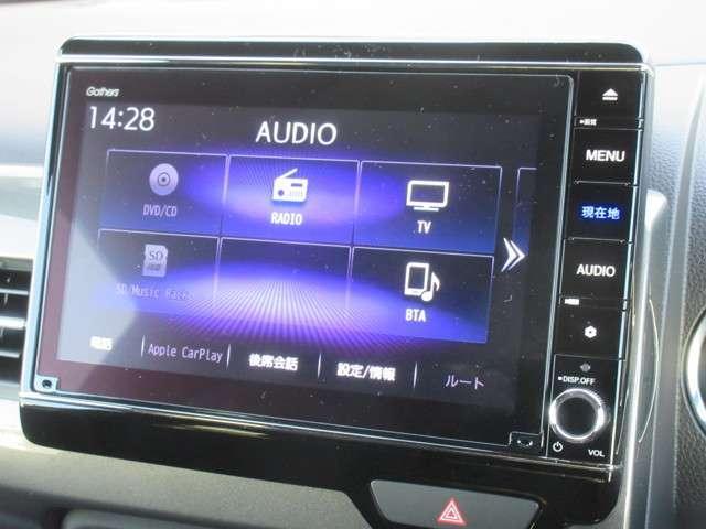 L・ターボホンダセンシング 当社試乗車 純正8インチナビ Bluetooth ETC(5枚目)