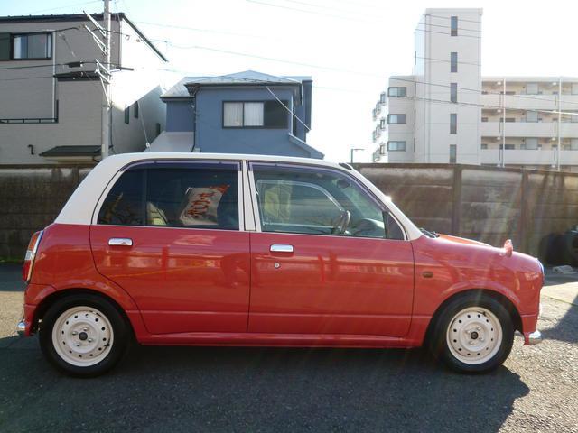 ダイハツ ミラジーノ ジーノ 全塗装ツートンカラー 新品タイヤ