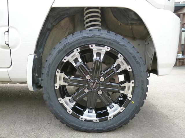 ターボG 4WDターボ リフトアップ 新品アルミタイヤSET(11枚目)