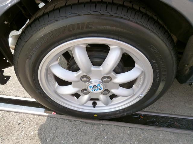 タイヤはもちろん新品に交換済み!安心のブリジストンです!輸入アジアンタイヤなんて使いません!路面に接する大事な部分ですので山の無いタイヤやヒビのあるタイヤのままお届けするなんてことは致しません!^^