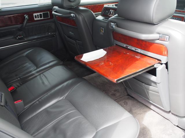 トヨタ センチュリー 標準仕様車 デュアルEMV 本革シート 後席モニター ETC