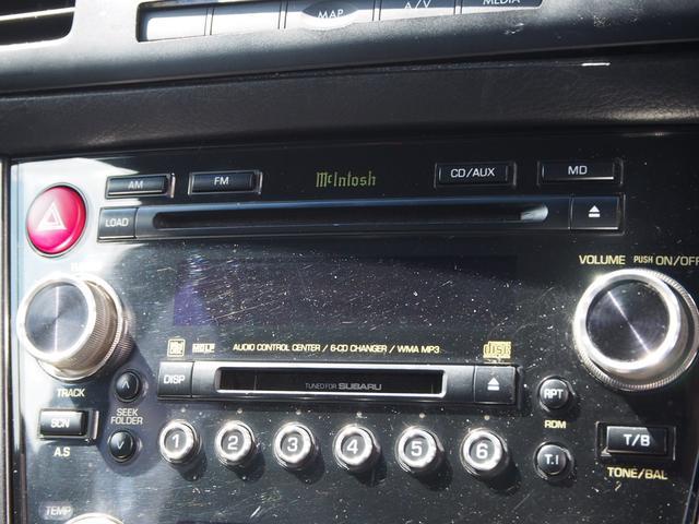 スバル レガシィツーリングワゴン tuned by STI 後期型 6MT車 ハーフレザー