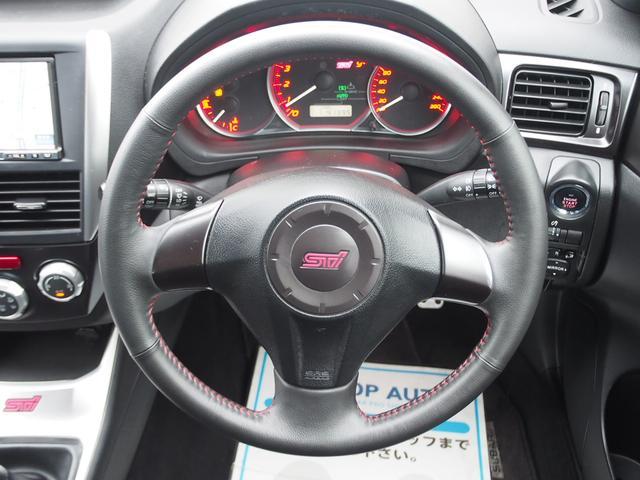 スバル インプレッサ WRX STi 6MT車 HDDナビ フルセグ ハーフレザー