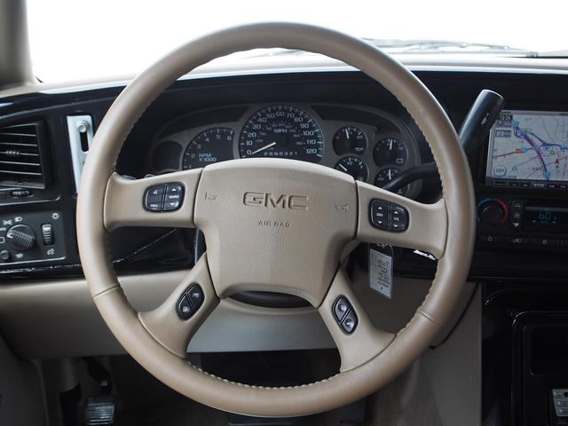 GMC GMC ユーコン デナリXL HDDナビ 後席モニター サンルーフ 1ナンバー