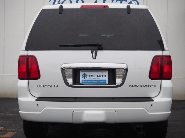 リンカーン リンカーン ナビゲーター アルティメイト 4WD サンルーフ 本革 HDD パワトラ
