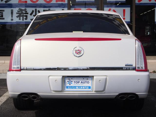 キャデラック キャデラック DTS 1オーナー ディーラー車 本革エアシート ナビ メッキアルミ