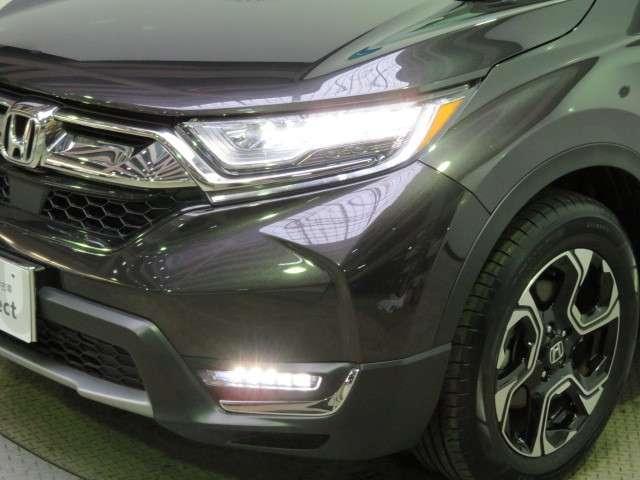 純正オート機能つきLEDヘッドライト、LEDフォグランプです。