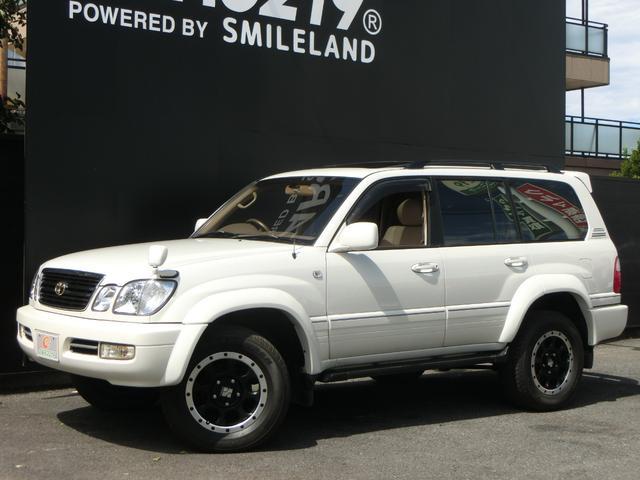 トヨタ ランドクルーザー100 シグナス 本革 サンルーフ エアサス ワイドボディ