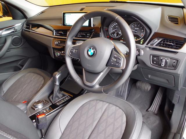 BMW BMW X1 xDrive20iXライン 純正HDDナビ ハーフレザー