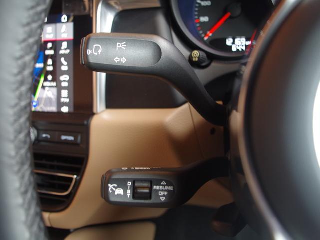 マカン ACC 衝突軽減B LKA BSM LEDライト ベージュハーフレザー 純正ナビ Bカメラ 純正19incAW パワーシートヒーター パドルシフト リモコンキー パワーバックドア ETC(18枚目)