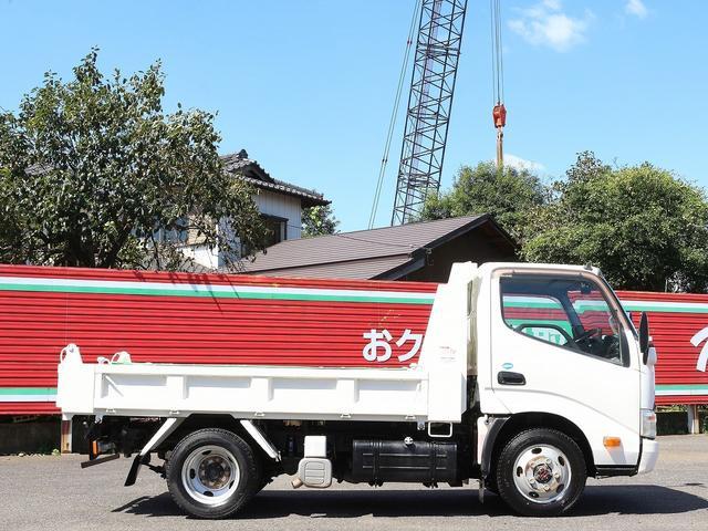 全低床強化ダンプ 4WD 2トン フルジャストロー 強化ダンプ コボレーン付 5MT リーフサス STタイヤ スペアキー ETC 新明和DR2-0110SY 最大積載量2000キロ 車両総重量5235キロ(5枚目)
