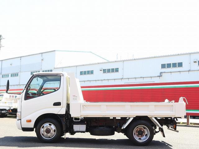 全低床強化ダンプ 4WD 2トン フルジャストロー 強化ダンプ コボレーン付 5MT リーフサス STタイヤ スペアキー ETC 新明和DR2-0110SY 最大積載量2000キロ 車両総重量5235キロ(9枚目)