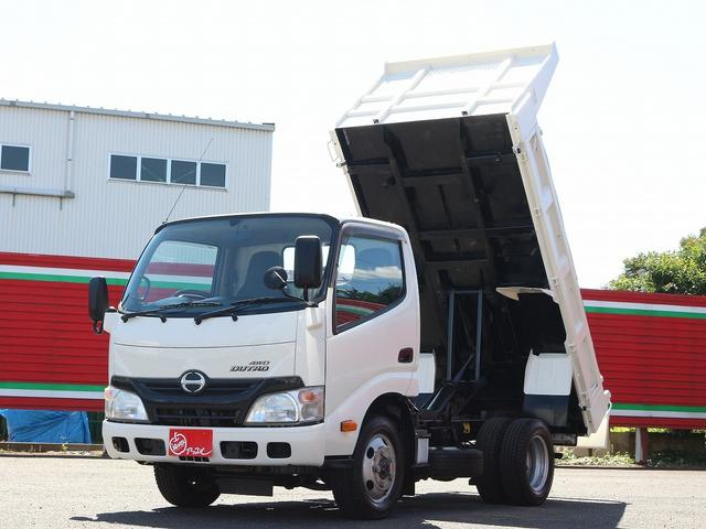 全低床強化ダンプ 4WD 2トン フルジャストロー 強化ダンプ コボレーン付 5MT リーフサス STタイヤ スペアキー ETC 新明和DR2-0110SY 最大積載量2000キロ 車両総重量5235キロ(10枚目)